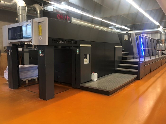 Show details for Heidelberg XL 105-5+LX