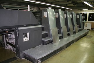 Heidelberg CD 74-5-P-H (C) Sheet Fed