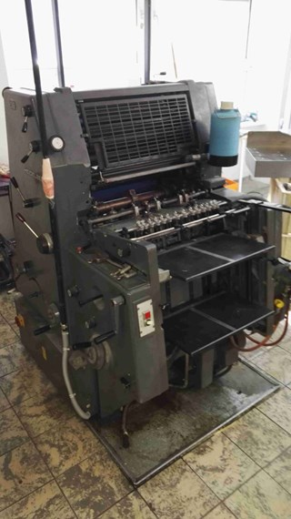 Heidelberg GTO 46+ w. N+P Sheet Fed