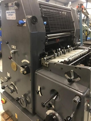 Heidelberg GTO 46+ (w. N+P) Sheet Fed