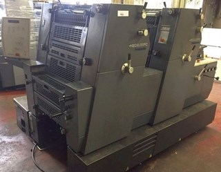 Heidelberg PM GTO 52-2+ (w. N+P) 单张纸胶印机