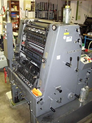 Heidelberg GTO 52+ (w. N+P) Sheet Fed