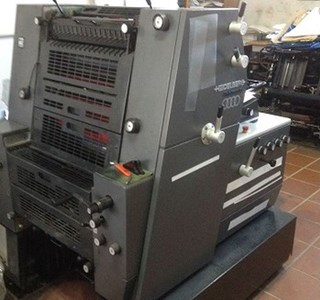 Heidelberg PM GTO 52-1+ Sheet Fed