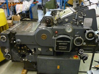 Heidelberg KORD 64, grey model Offset de pliegos