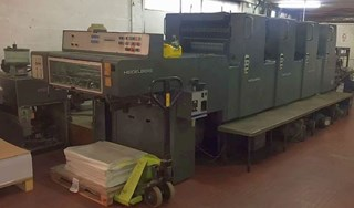 Heidelberg MOVP-H Sheet Fed