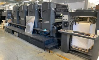Heidelberg SM 102 VP (w. Autoplate) Sheet Fed