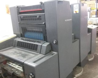 Heidelberg SM 52-2+ (w. N+P), straight Sheet Fed