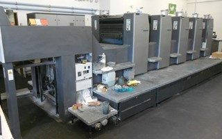Heidelberg SM 74-5-P-H Sheet Fed