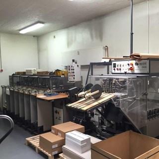 Theisen & Bonitz sprint 307 HP + 303 QS Broschürenfertigungssysteme