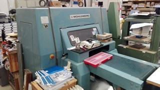 Wohlenberg 44 Fo Three-knife-trimmers