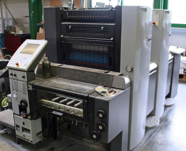Show details for Heidelberg SM 52-2+ (w. N+P), straight