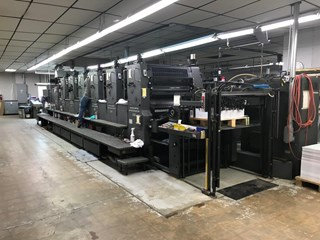 Heidelberg CD102 - 6 L Sheet Fed