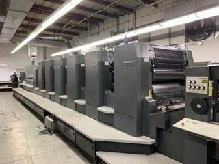 1999 Heidelberg CD 102 - 6 LX Machines offset à feuilles