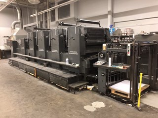 1993 Heidelberg SM102 VP L Sheet Fed