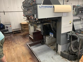 1997 Komori L 628 CX Sheet Fed