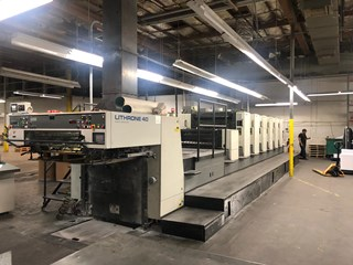 2001 Komori L 640 CX Sheet Fed