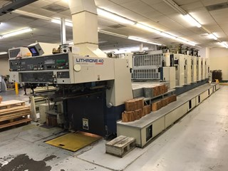 1995 Komori L 640 CX Sheet Fed