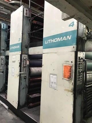 MAN Roland LITHOMAN 4 Print Unit Prensas Rotativas Comerciales