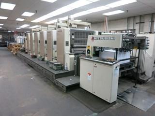 2008 Mitsubishi D3000 LS-6-TC+ED 单张纸胶印机