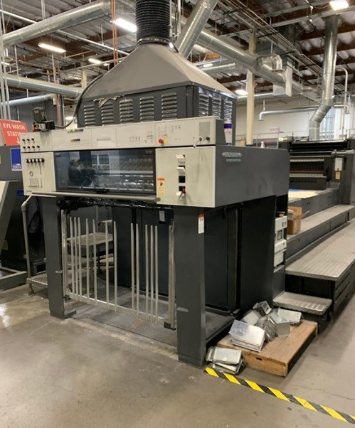 Show details for 1999 Heidelberg CD 102 - 8 LX