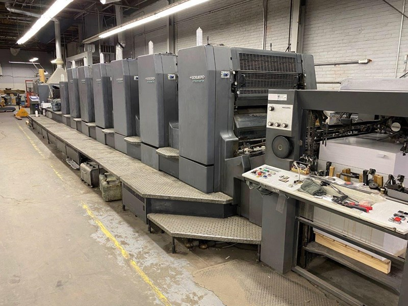 Show details for Heidelberg CD 102