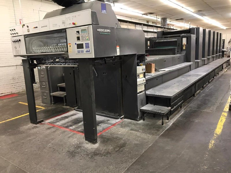 Show details for 2000 Heidelberg CD 102 - 6 LX