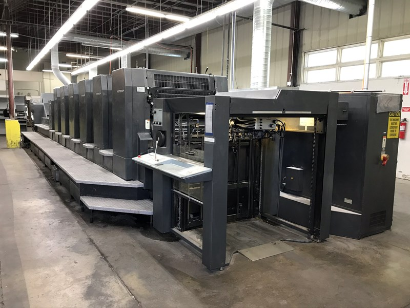 Show details for 1999 Heidelberg CD 102 - 6 LX