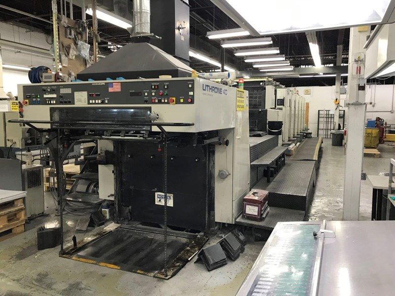 1999 Komori L 640 CX with Anilox Tower coater