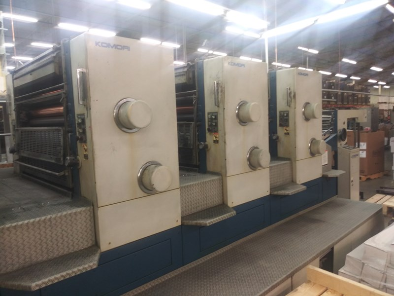 Show details for 1991 Komori L 640 CX
