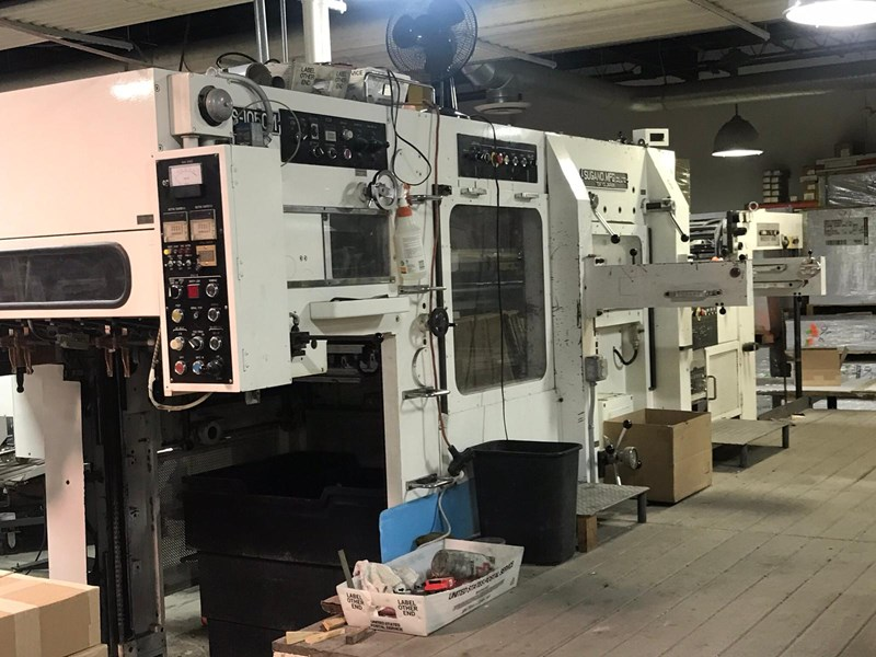 Show details for 1992 Sugano Die Cutter NFS 1050 M
