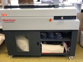 Horizon BQ-160 胶订机及配页机