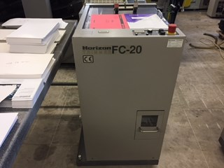 Horizon FC-20 Booklet production