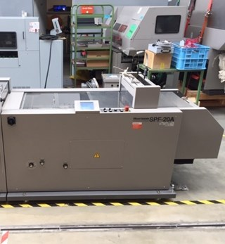 Horizon SPF-20A Booklet production