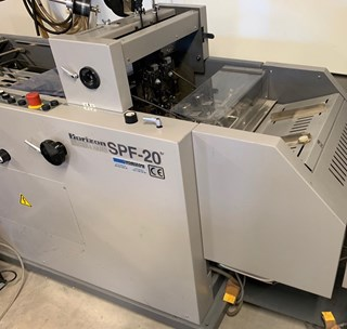 Horizon SPF-20 FC-20 Booklet production