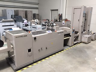 Horizon VAC-100a VAC-100m ST-40 SPF-20A FC-20A Booklet Production