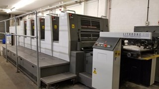 KOMORI  LITHRONE 529 Sheet Fed