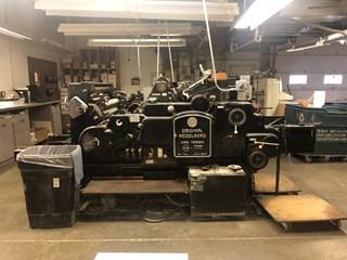 Heidelberg Original Cylinder S Die Cutting