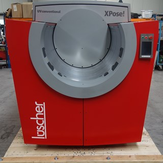 Luescher XPose! 260/128 UV Ferrari Red CTP-Systems