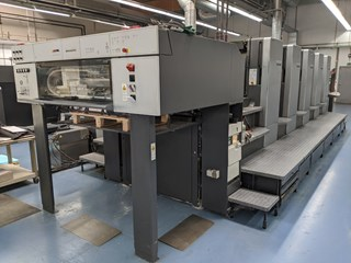 Heidelberg SM 102-5-P3 Sheet Fed