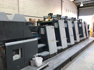 Heidelberg XL 75-5-P-L-C Sheet Fed