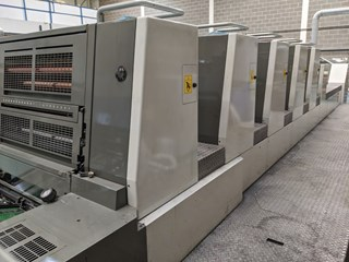 Komori Lithrone LS-529+C Offset de pliegos