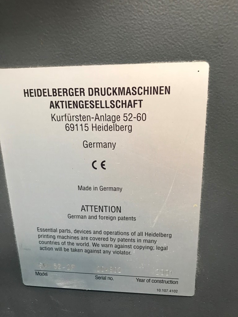 Heidelberg SM 52-2P
