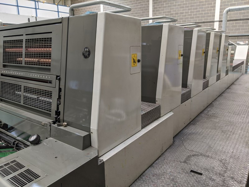 Show details for Komori Lithrone LS-529+C