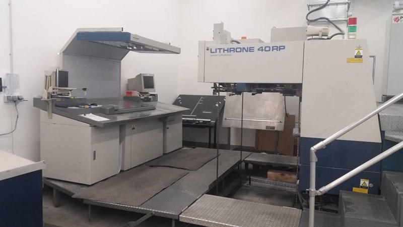 Komori Lithrone 540RP + C