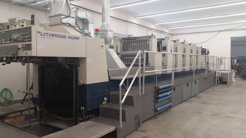 Show details for Komori Lithrone 540RP + C