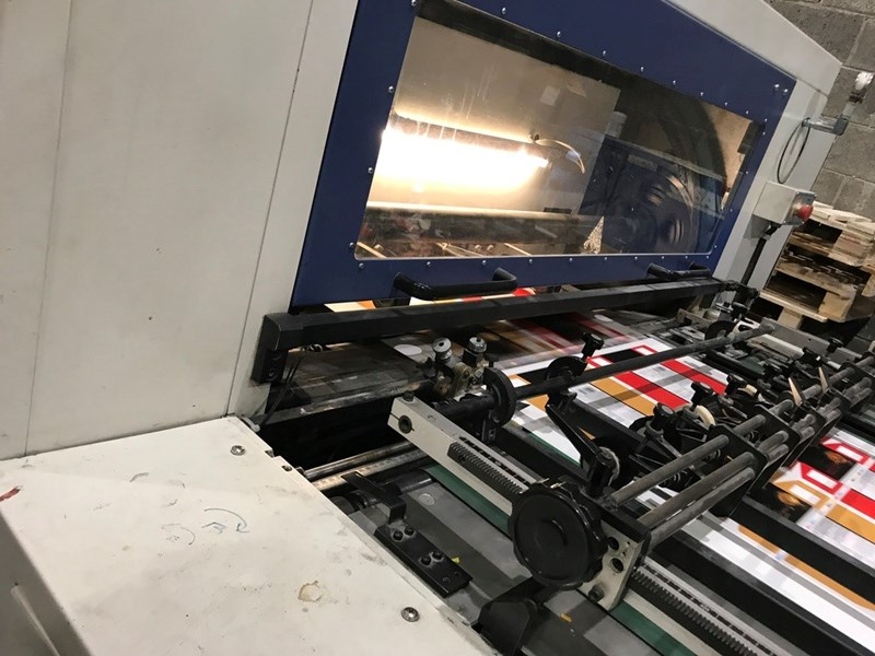 Show details for Yawa MW1050A FLAT BED DIE CUTTER