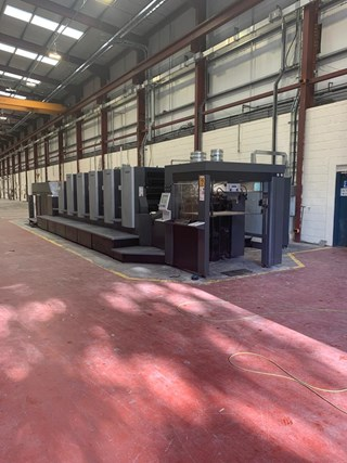 Heidelberg CX 102 5 + LX Five Colour Offset Press Sheet Fed