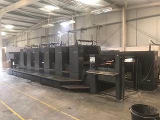 Heidelberg SM 102 6 P3 Six Colour Offset Press Sheet Fed