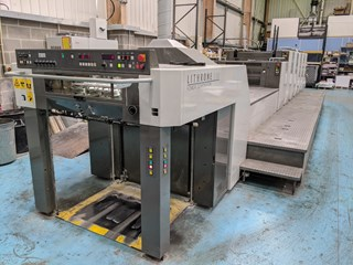 Komori Lithrone LS 529 + C (M) Sheet Fed