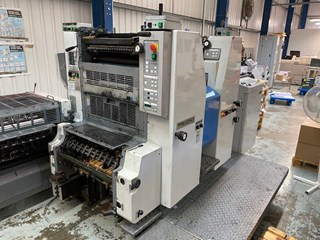 Ryobi 522 HXX Two Colour Offset Press Sheet Fed